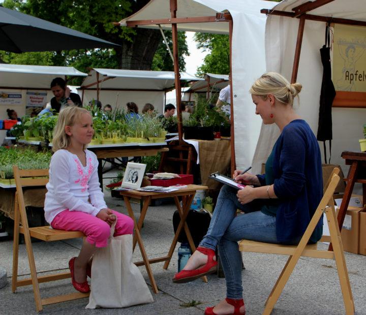 Illustratorin & Live-Zeichnerin Nina Heinke